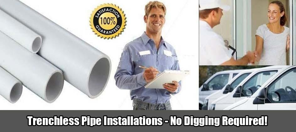 A Plus Sewer & Water, Inc Trenchless Pipe Installation